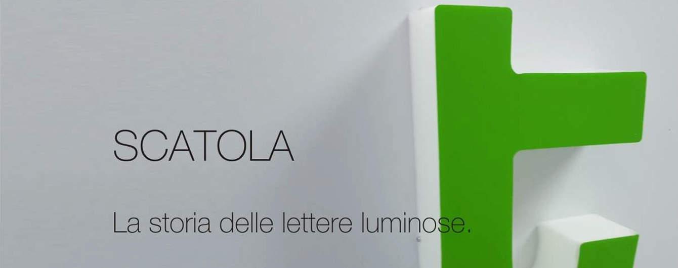 Le lettere luminose scatola riescono a creare un bagliore diffuso sulla superficie che rendono unica l'insegna del cliente.