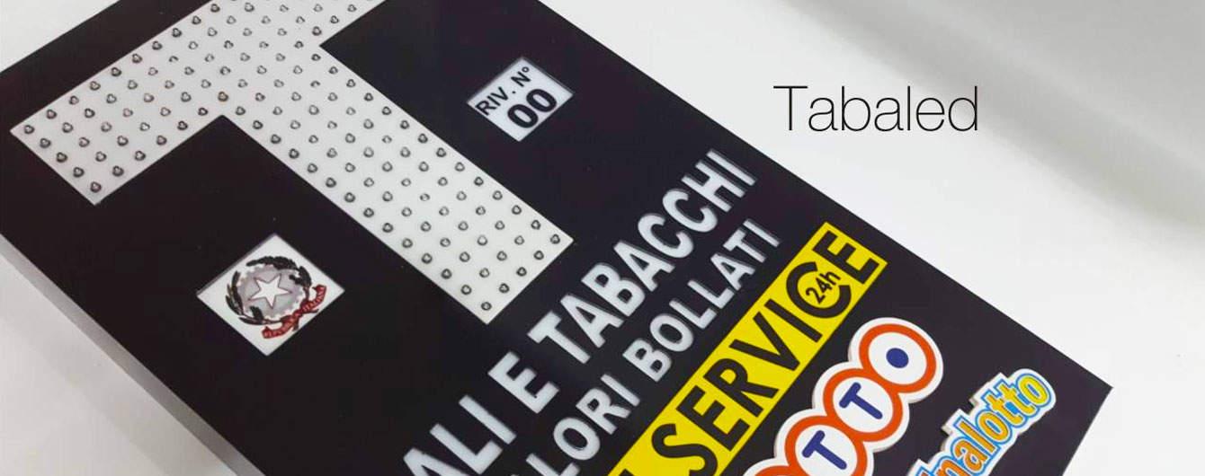 La produzione di insegne luminose per tabacchi non conosce sosta, grazie alle innovazioni di Sign Italia nel settore