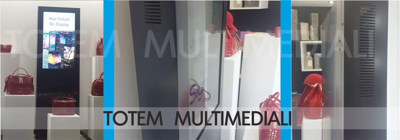 totem multimediali