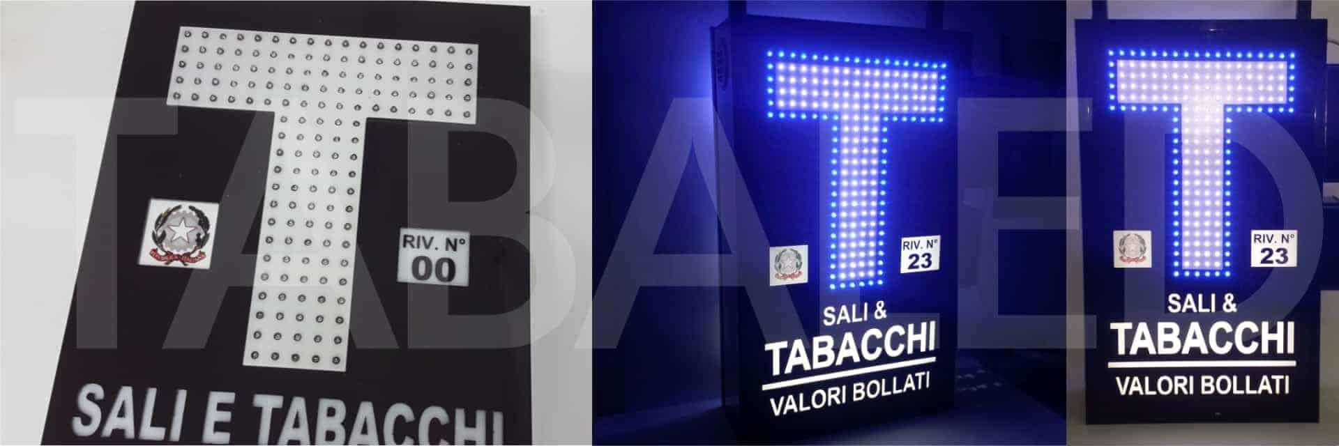 insegna per tabacchi